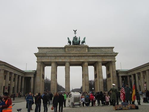 Foto Porta di Brandeburgo Berlino