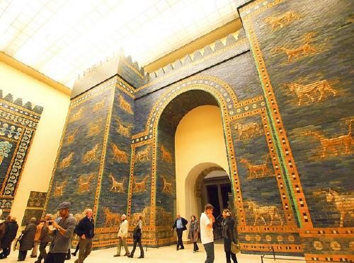 Foto Ishtar nel museo di Pergamon