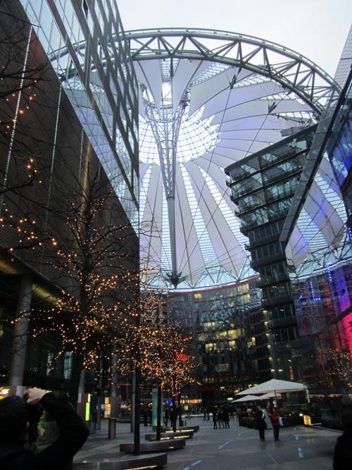 Foto interno del Sony Center