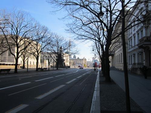 Foto Unter den Linden