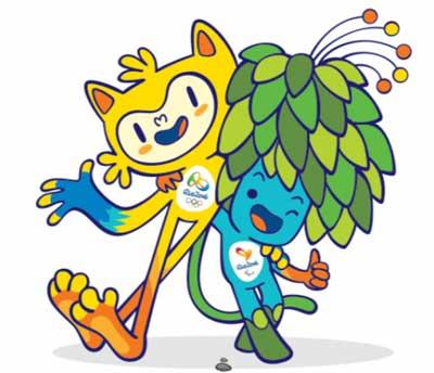 mascotte olimpiadi brasile 2016