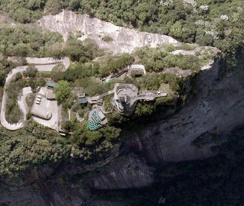 Foto dal satellite Cristo redentore
