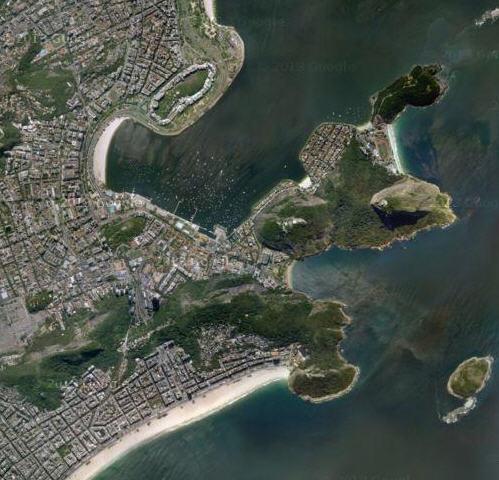 Foto satellite Pan di Zucchero