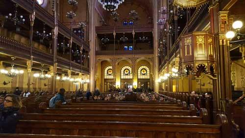Foto interno sinagoga