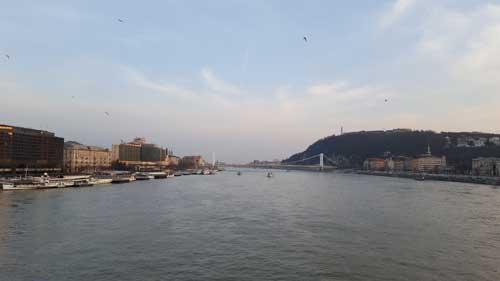 Vista sul Danubio