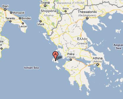 Cartina Geografica Isole Greche.Cefalonia Isole Ionie Grecia Tante Foto Consigli Di Viaggio