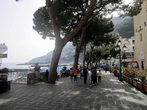 Lungomare Amalfi