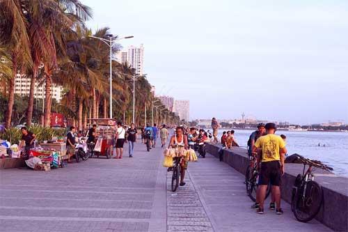 foto lungomare Manila, Filippine