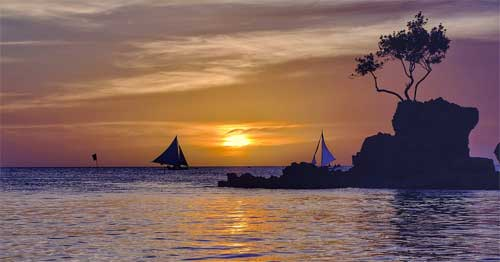 oto tramonto, Filippine