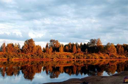 foto colori Ruska, Finlandia