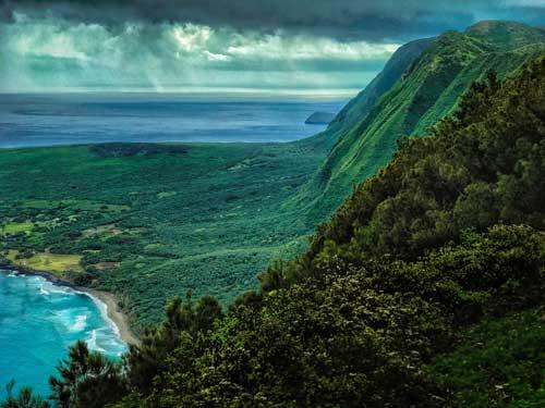 foto Molokaii, Hawaii