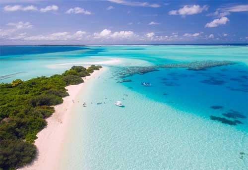 foto spiaggia Maldive