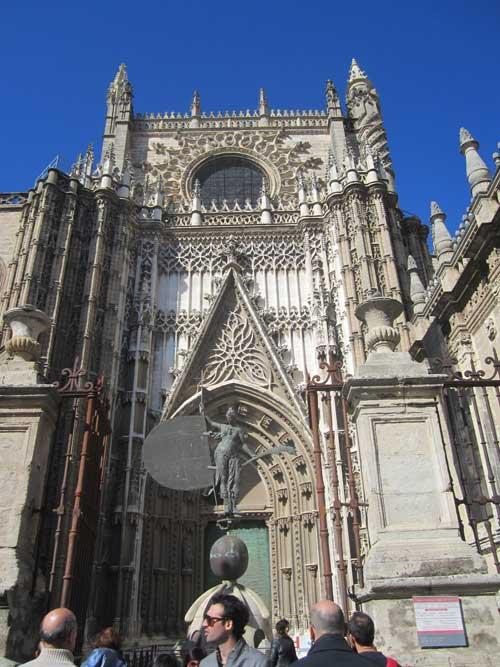 Foto entrata cattedrale - Siviglia