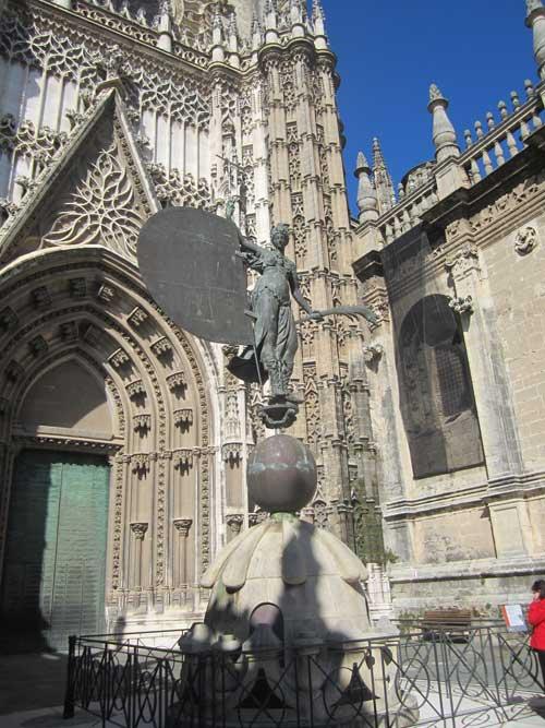 Foto Giraldillo Torre della Giralda Siviglia