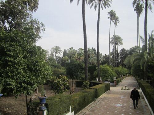 Foto giardini di Real Alcazar