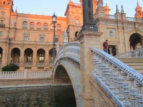 Piazza Di Spagna Cartina.Plaza De Espana Siviglia Foto Immagini E Informazioni Su Piazza Di Spagna