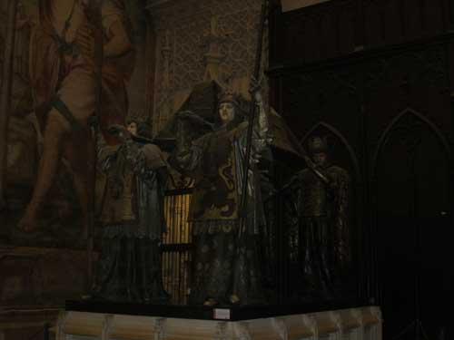 Foto tomba di Cristoforo Colombo
