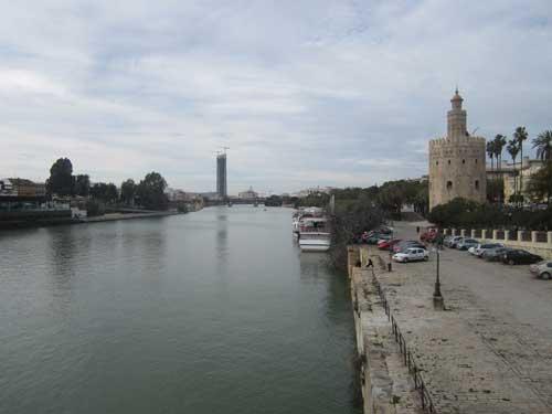 Foto del fiume e della Torre